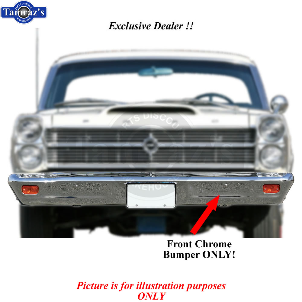 1963 ford galaxie parts ebay - In Stock 66 67 Fairlane Chrome Front Bumper Brand New Tooling Limited Qty Fits Ford Fairlane