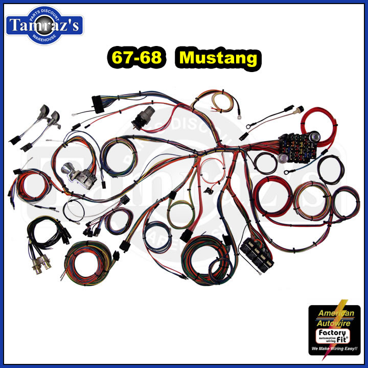 Mustang Wiring Harness Kits