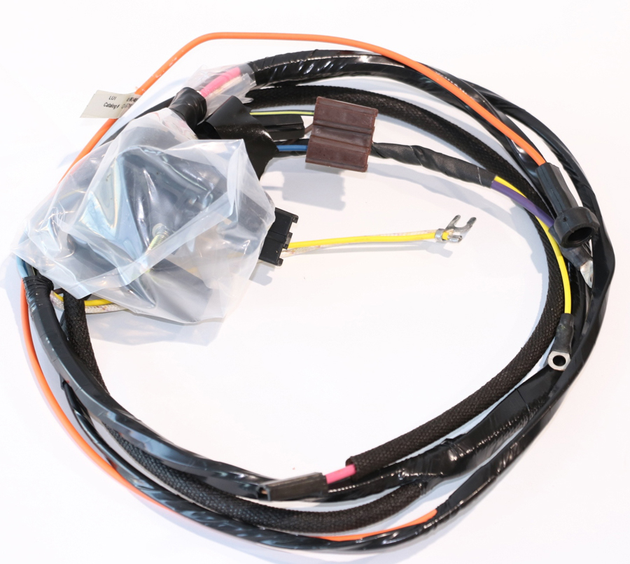 Details about 69 Camaro Nova Engine Wiring Harness V8 With Factory on