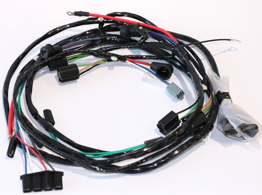 [SCHEMATICS_49CH]  1966 Impala Front Light Wiring Harness - V8 With Warning Lights U.S. Made  New | eBay | 1966 Caprice Wiring Harness |  | eBay