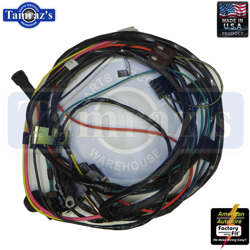 Details about 70 Chevelle Engine Wiring Harness HEI V8, 396-454 c.i. on