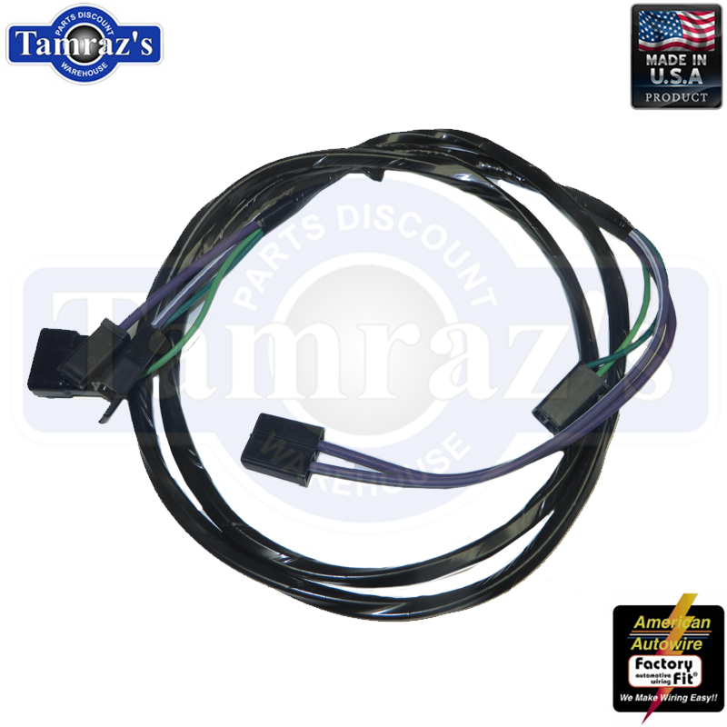 manual trans console extension wiring harness 69 70 71 72 Chevy Chevelle Malibu