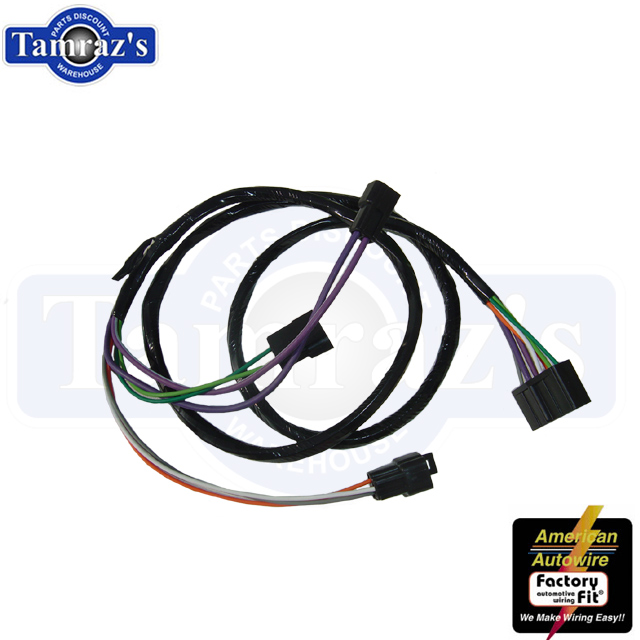 1969 1972 chevelle monte carlo console extension wiring harness ebay 1971 chevelle wiring diagram 1972 chevelle wiring harness #15