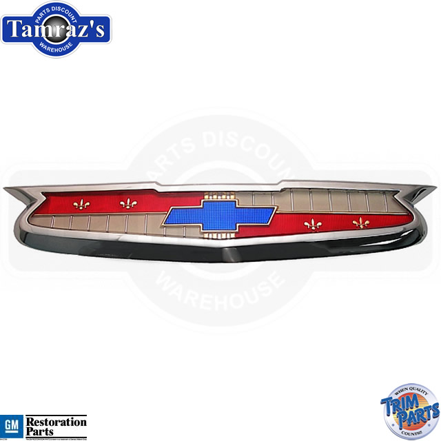 1955 Chevrolet 55 Chevy Bowtie Hood Emblem Assembly Made In The