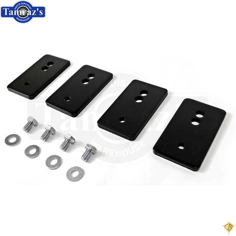 1964 1965 1966 1967 1968 1969 1970 1971 1972 Chevelle El Camino Bench Seat Relocation Bracket Set Made in USA