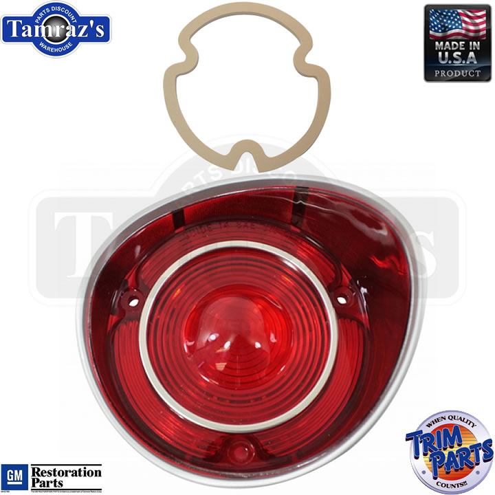 Made in the USA 72 Chevelle Taillight Tail Light Lamp Lens RH