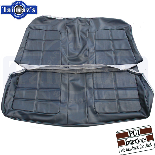 69 Charger RT Front & Rear Seat Upholstery Covers W