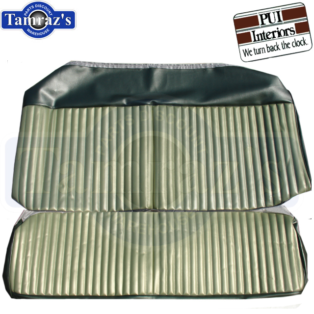 1970 Dart Swinger 340 Front & Rear Seat Upholstery Covers