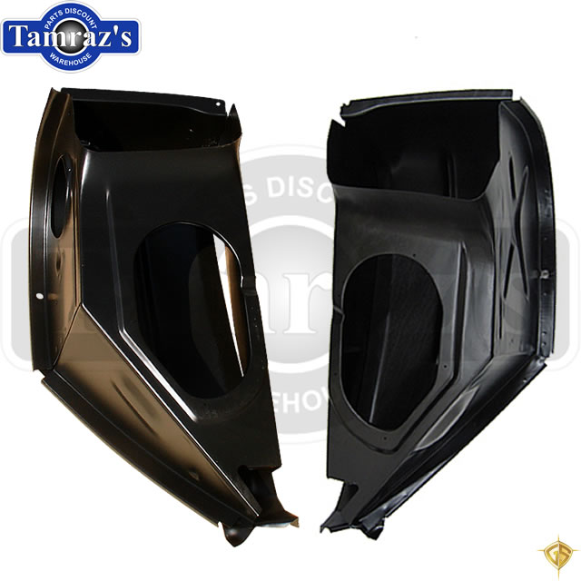 LH 67-69 F /& 68-72 X-Body Outer Firewall Cowl Shoulder Lower Side Panel