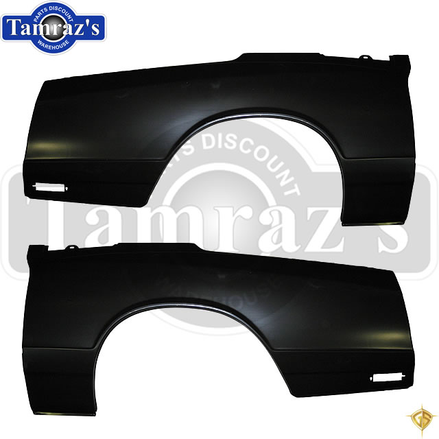 LH 81-88 Monte Carlo Rear Lower Quarter Panel Patch Repair Skin Section REAR