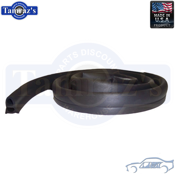 68-72 GM A Hood to Cowl Weatherstrip Seal 5074 Dense SoffSeal USA Made New