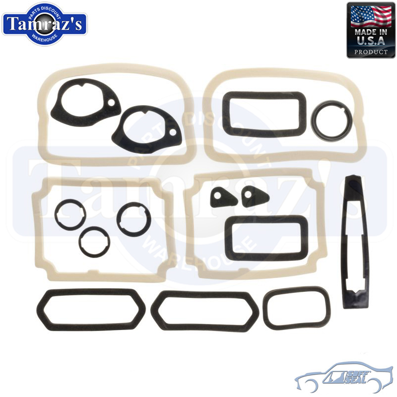 Exterior Body Paint Gasket Set Kit for 69 Chevelle Malibu SS Models